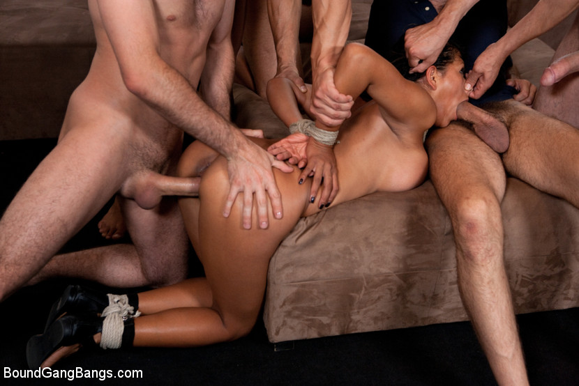 Japanese Hard Rough Gangbang