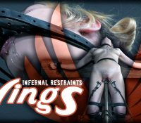 Sailor Luna in  Infernalrestraints Wings June 23, 2017  High Heel Bondage, Cross