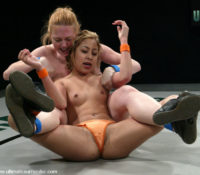 Kat in  Ultimatesurrender The Grappler (0-2) Kat (0-3) May 09, 2006  Lesbian, Domination